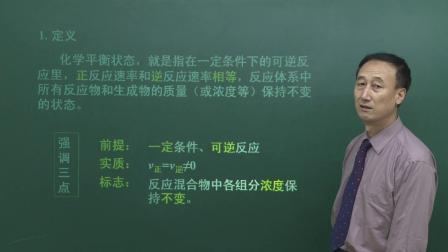 名师课堂 人教版高中化学选修四 2.3 化学平衡(第1课时)