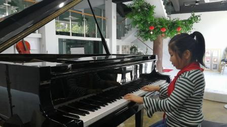丁家浩琴行 姚家荷同学练习贝多芬《G大调小奏鸣曲》第一乐章