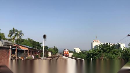 (广茂线火车视频)DF4B 2308 DF11 0013通过肇庆站(50078)
