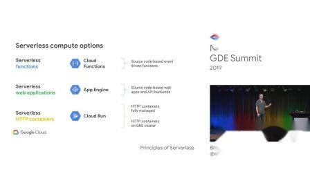 Principles of serverless - NA GDE Summit