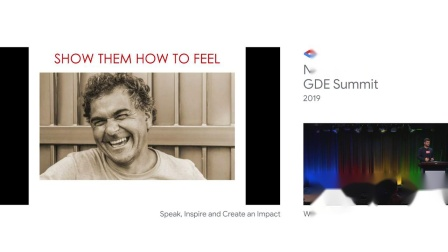 Speak, Inspire and Create an Impact - NA GDE Summi