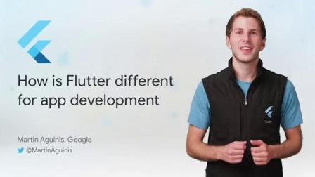 How is Flutter different for app development