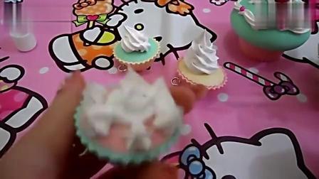 日本食玩之奶油杯子蛋糕