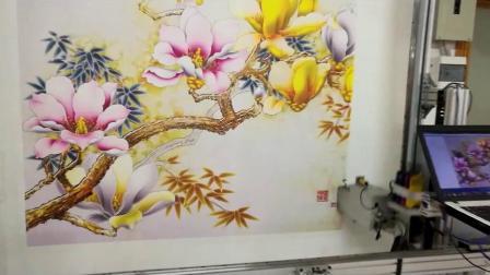 3d5D墙绘打印机墙体彩绘机喷绘一体机客厅墙面绘画机自动绘画设备