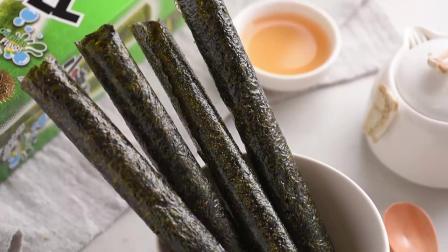 君晓天云小老闆海苔卷 泰国风味脆紫菜即食海味休闲小零食小老闆海苔4盒