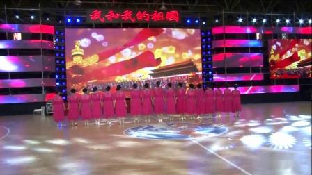 辛集市第六届广场舞大赛二等奖获得者理顺井秋韵舞队作品《不忘初心》摄像 红星