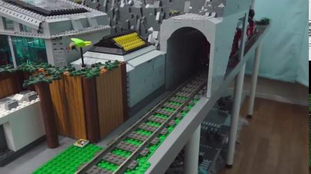 LEGO乐高积木迪士尼乐园71044火车火车站