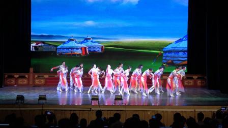 江岸区老年大学蓝宝石艺术舞蹈队,新的天地,编导喻鸣,录制老来乐