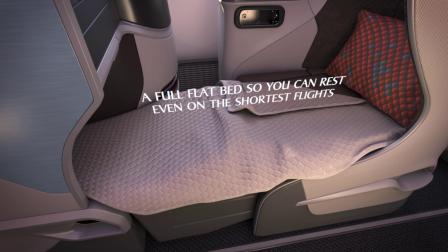 新加坡航空波音787-10全新客舱产品,邀您体验!
