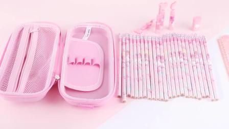 君晓天云HelloKitty笔袋女小学生大容量卡通笔盒文具用品可爱韩国多功能文具袋儿童Hello铅笔盒1-3年级文具盒