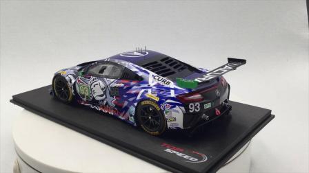 TopSpeed 1:18 欧歌 NSX GT3 #93