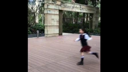 君晓天云黑白条纹长筒袜棉男女儿童高筒袜学生校服袜表演运动纯白色长袜子