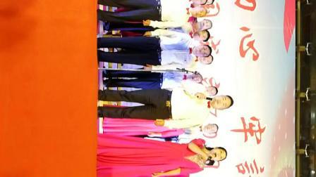2019年9月27号晚上知音合唱团在怀化农超市场大汉店合唱演出(跟党走)(我和我的祖国)
