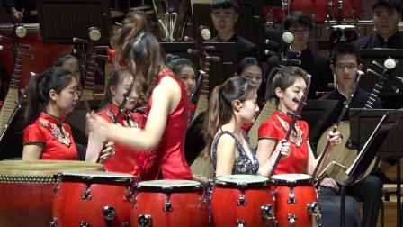 打击乐与乐队【龙腾虎跃】演奏:肖贺元 指挥:索 帅 作曲:李民雄