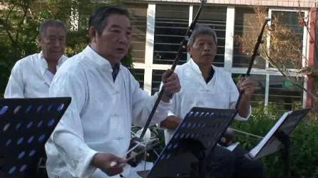 林荫家园老年艺术团为社区老人演出欢度重阳节