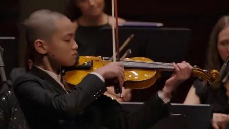 钟少亨 莫扎特第三小提琴协奏曲