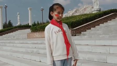 童星歌手张嘉惠演唱《我和我的祖国》祝福祖国70周年华诞