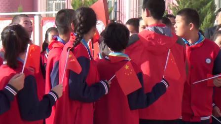 献礼祖国70华诞!轮台县第二中学快闪《我和我的祖国》