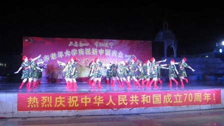 广西合山市老年大学舞蹈班庆国庆70周年演出