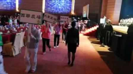 参加香港会展中心庆国庆活动