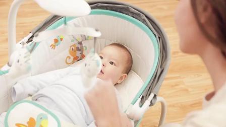 君晓天云宝宝电震动提篮婴儿摇牀摇椅智能躺椅按摩安抚椅电动摇篮牀中牀