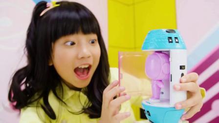 君晓天云正版亿奇惊喜拆拆乐猜猜lol盒子太空舱仓娃娃蛋洞洞看球女孩玩具