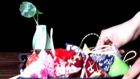 君晓天云端午节艾草香包香囊艾叶驱蚊三角糉子小香包随身挂件礼品装饰品