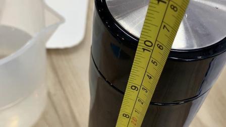 520毫升塑玻杯水容量测试