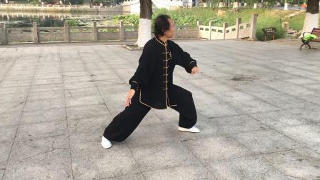 (一)付明友传统陈拳老架一路74、演示,