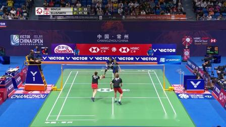 2019中国羽毛球公开赛最佳反手