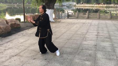 (四)付明友传统陈拳老架一路74、演示、