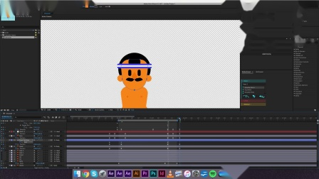 After Effects character animation