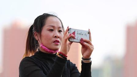 快闪 庆祝祖国70华诞榆林市第五中学唱响红歌《我和我的祖国》
