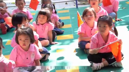 梧州地中海幼儿园祝福新中国70周年\生日快乐