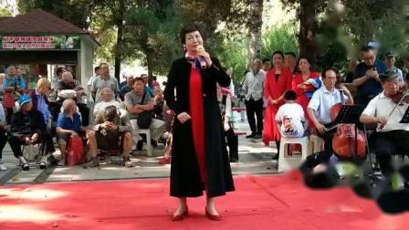 人民公园有戏(庆国庆)公益演出视频