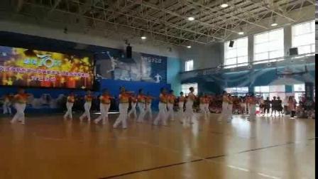 20190922金尚社区健身队参加健身球比赛完整版