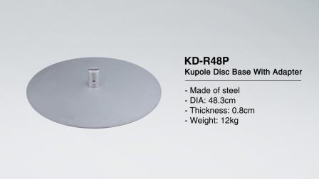 KUPO-KD-R48P 天地杆固定底盘_en