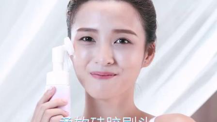 君晓天云洗脸机卸妆泡沫保湿洗面乳按摩慕斯洗面奶保湿控油带刷头清洁毛。