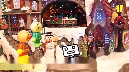 面包超人 圣诞节发生的故事 动画片
