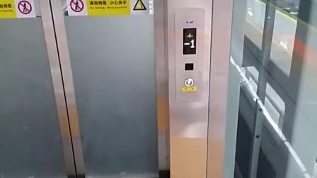 【深圳地铁】5号线赤湾站无障碍电梯1