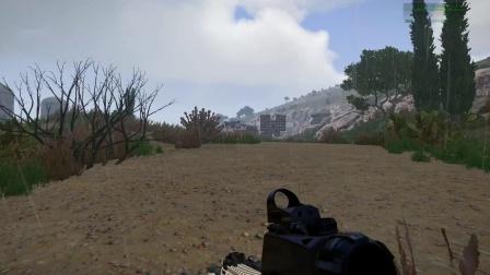 武装突袭3:炮火覆盖轰炸后,地面部队向丧尸巢穴发起了进攻