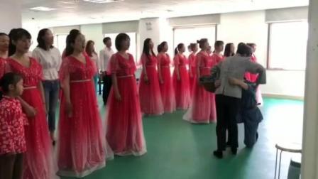 国庆70周年大合唱《十送红军》(六安供电局)