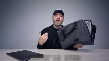 我设计的完美挎包!pacsafe 与 Unbox Therapy 联名款