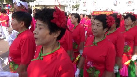 祝福祖国 七十华诞   《南苑社区 秧歌队》表演