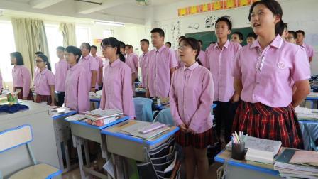 中山市民众德恒学校高中部庆祝祖国70华诞