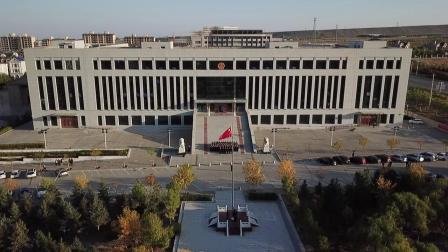 阿拉善盟中级人民法院升国旗仪式
