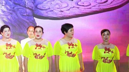 """2019年9月30日,五指山市老干部之声合唱团参加庆祝中华人民共和国成立70周年""""颂歌献祖国""""主题晚会大合唱《我的祖国》实况"""