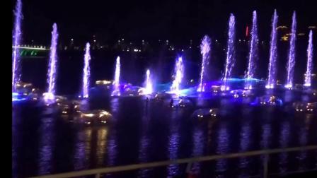 邢台园博园庆建国70周年音乐喷泉演出 2019.9.30