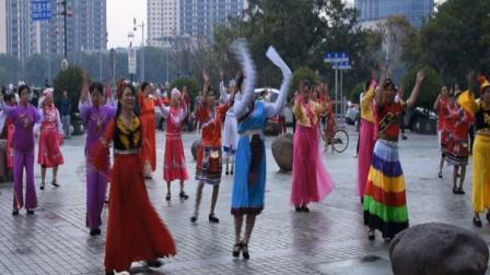 上饶市健身气功协会庆祝祖国70周年