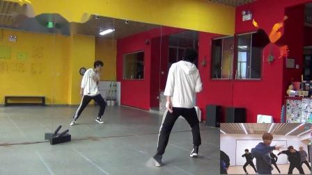 【南舞团】 go nct dream 舞蹈教学 翻跳 练习室(上)